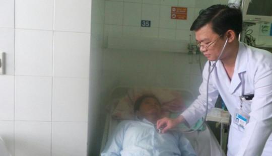 Cứu sống doanh nhân người Hàn bị nhồi máu cơ tim cấp