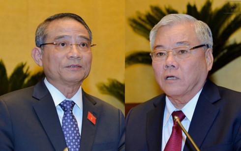 Hơn 94% ĐBQH tán thành miễn nhiệm Bộ trưởng GTVT và Tổng Thanh tra Chính phủ