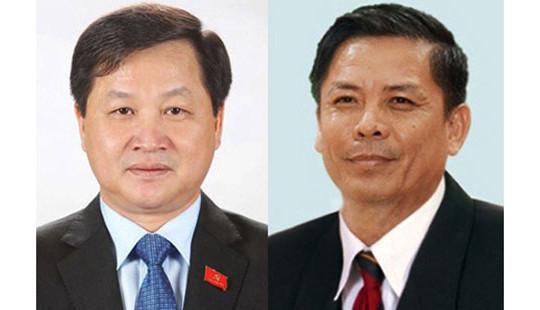 Trình Quốc hội nhân sự thay ông Phan Văn Sáu, Trương Quang Nghĩa