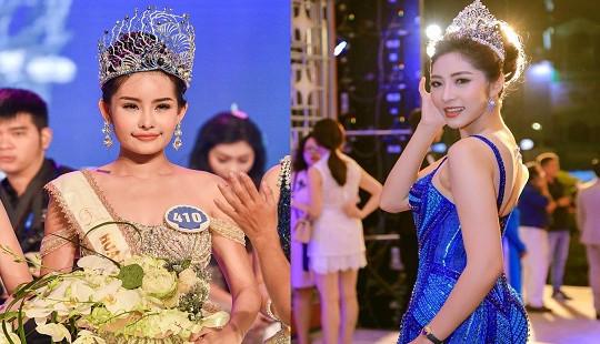 Hoa hậu Đại dương 2017: Cục NTBD vào cuộc, Hoa hậu Thu Thảo đòi trả vương miện