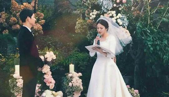 Những khoảnh khắc ngọt ngào trong đám cưới Song Joong Ki và Song Hye Kyo