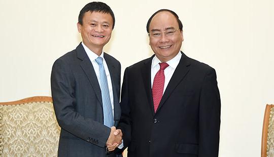 Chủ tịch Tập đoàn Alibaba muốn hỗ trợ Việt Nam phát triển thương mại điện tử