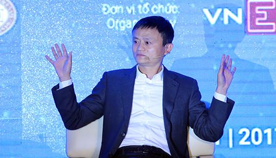 Tỷ phú Jack Ma: Vấn đề đầu tiên là ý tưởng chứ không phải là tiền