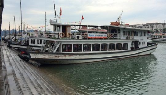 Đình chỉ 2 tàu vi phạm trong hoạt động kinh doanh trên Vịnh Hạ Long