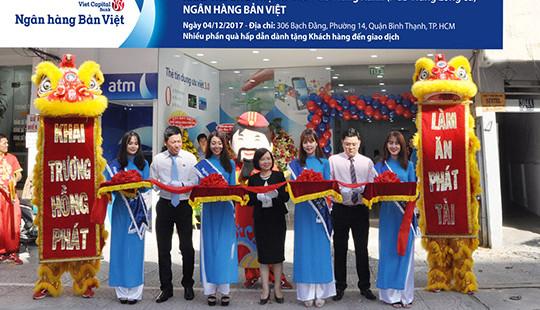 Ngân hàng Bản Việt khai trương địa điểm mới và đổi tên Phòng giao dịch Hưng Long