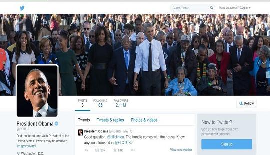 Ông Obama làm rung chuyển bảng xếp hạng tweet của năm