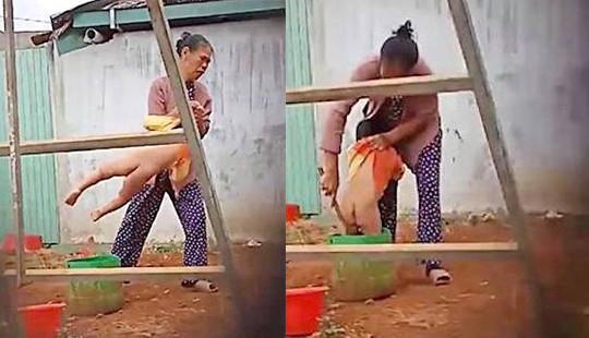 Đắk Nông: Bé 2 tuổi bị bảo mẫu bạo hành dã man