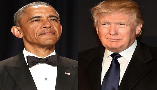 Obama vượt Trump trở thành người đàn ông được ngưỡng mộ nhất ở Mỹ
