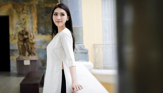 Tường Linh mang văn hóa Việt Nam tới đấu trường nhan sắc quốc tế