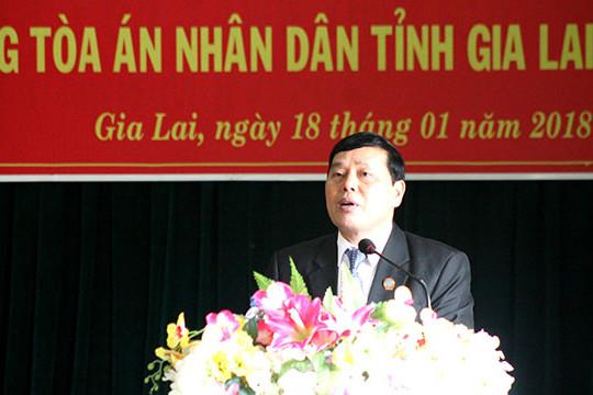 TAND hai cấp tỉnh Gia Lai: Góp phần giữ vững trật tự an ninh chính trị trên địa bàn