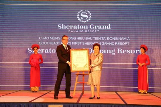 Tập đoàn Marriott international ra mắt khu nghỉ dưỡng thương hiệu Sheraton Grand đầu tiên ở khu vực Đông Nam Á