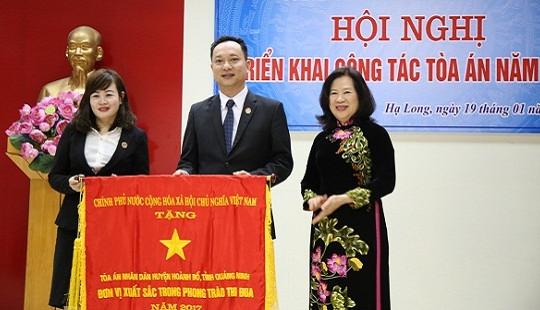 TAND tỉnh Quảng Ninh triển khai công tác năm 2018