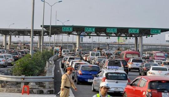 Những hành vi gây cản trở giao thông tại các trạm thu phí BOT sẽ bị xử lý