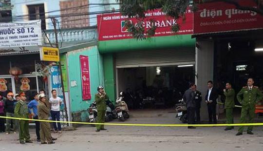Nghi phạm mang bom giả đi cướp Ngân hàng ở Bắc Giang