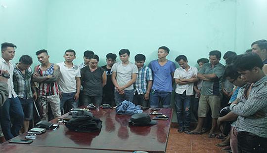 Băng nhóm giang hồ hỗn chiến ở Biên Hoà: Tạm giữ hàng chục đối tượng