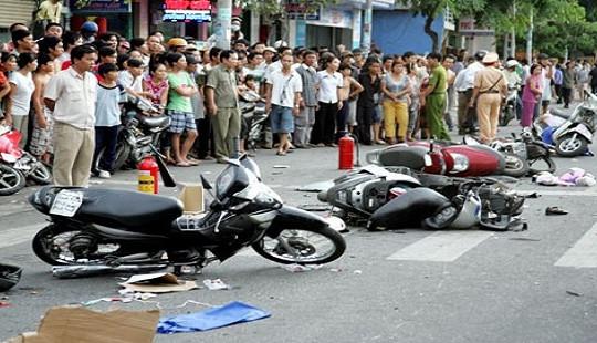 Ngày mùng 4 Tết: 24 người chết, 37 người bị thương vì tai nạn giao thông