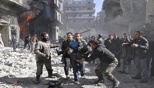 """Mỹ tố Nga """"thờ ơ"""" với xung đột đẫm máu tại Đông Ghouta"""