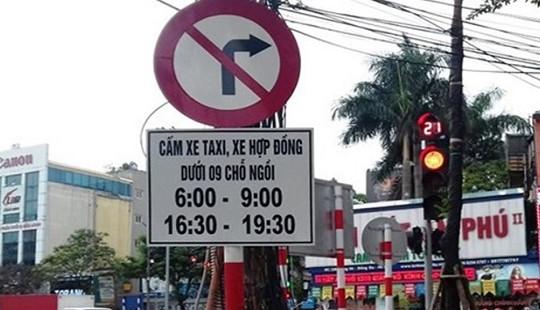 Chính thức đề xuất cấm xe Uber, Grab trên 11 tuyến phố ở Hà Nội