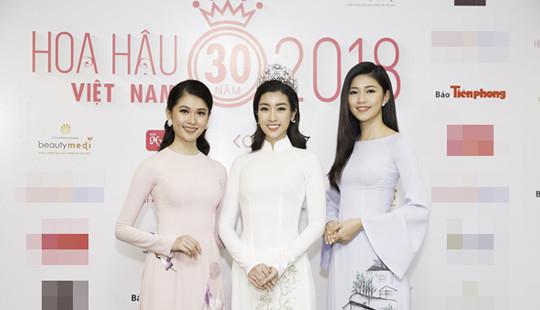 Dấu ấn 30 năm Hoa hậu Việt Nam