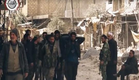 Phát hiện hơn 40 tấn vũ khí hóa học phiến quân để lại ở Syria