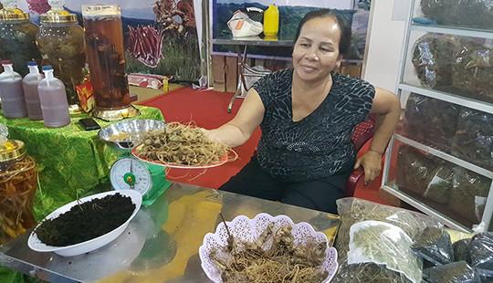 Chỉ 3 ngày, phiên chợ sâm Ngọc Linh thu về gần 5 tỷ đồng