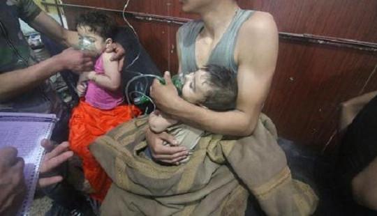 Tấn công bằng vũ khí hóa học ở Đông Ghouta, ít nhất 150 người chết