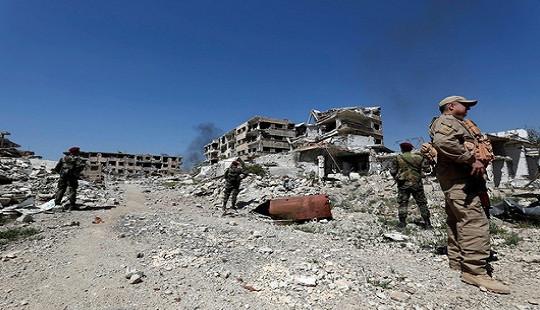 Căn cứ quân sự Syria bị tấn công, ít nhất 14 người thiệt mạng