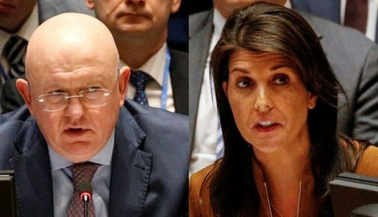Nga phản pháo đanh thép, phủ quyết dự thảo mới về Syria của Mỹ