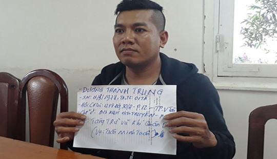 Vụ tàng trữ súng đạn ở Đà Lạt: Thêm một nghi can ra đầu thú