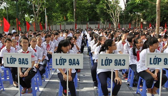 38% học sinh lớp 9 ở Hà Nội không có cơ hội vào trường THPT công lập