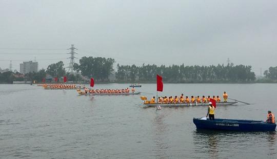 300 vận động viên tham gia Giải đua thuyền Rồng Hải Phòng 2018