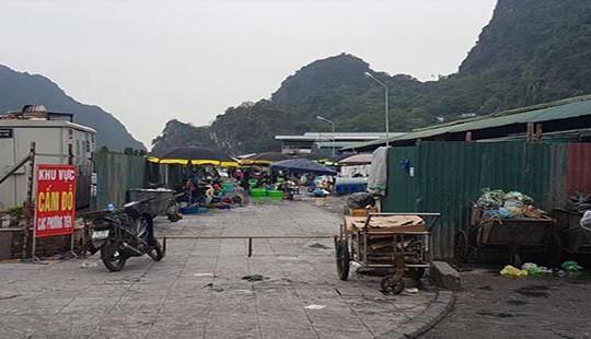 Hạ Long - Quảng Ninh: Lùm xùm việc giao khoán khai thác đất sau chợ cho doanh nghiệp