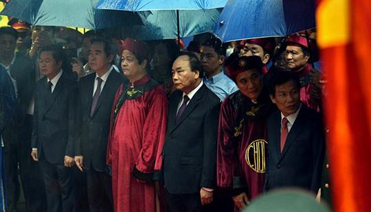 Lãnh đạo Đảng, Chính phủ dâng hương tưởng nhớ Vua Hùng, kỷ niệm Nhà nước Đại Cồ Việt