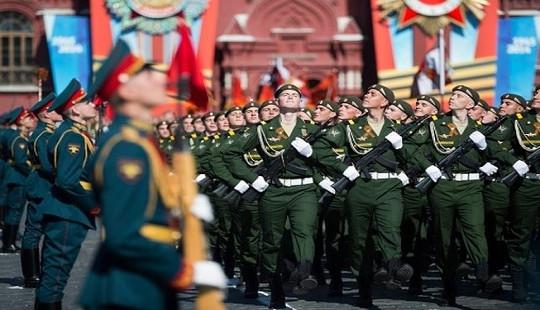 Nga diễu binh hoành tráng mừng Ngày Chiến thắng phát xít lần thứ 73