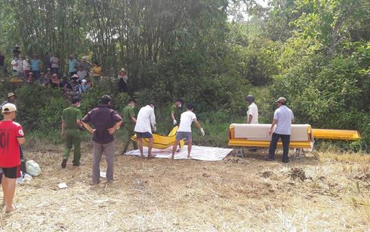 Hai nghi phạm giết người, đem xác đi chôn ở bờ ruộng