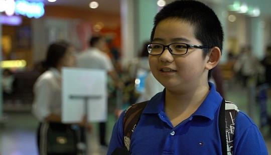 Cậu bé 13 tuổi giành Huy chương Đồng tại Olympic Vật lý châu Á 2018