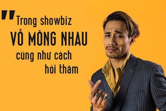 Vỗ mông nhau cũng là cách hỏi thăm: Văn hóa Showbiz Việt xuống cấp đến thế sao?