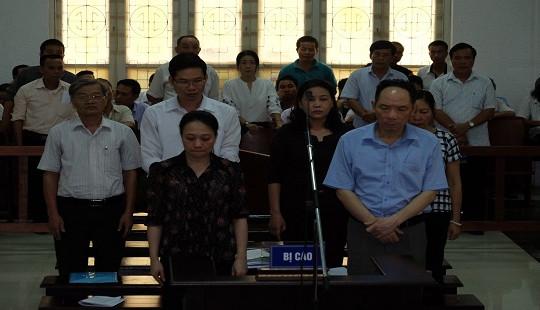 Nguyên Phó GĐ Sở NN & PTNT Hà Nội được đề nghị thay đổi tội danh