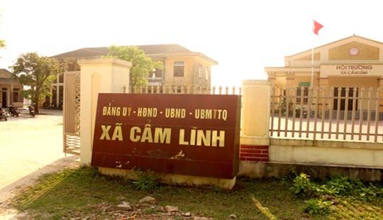 Hà Tĩnh: Hàng loạt cán bộ xã vi phạm bị kỷ luật