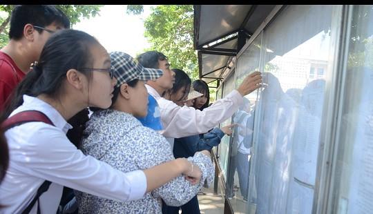 Hà Nội công bố điểm chuẩn vào các trường THPT công lập vào ngày 30/6/2018