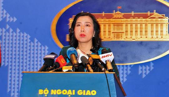 Người phát ngôn Bộ Ngoại giao nói về Luật An ninh mạng và dự thảo Luật đặc khu