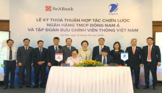 Tập đoàn VNPT và Ngân hàng SeABank ký Thỏa thuận hợp tác toàn diện