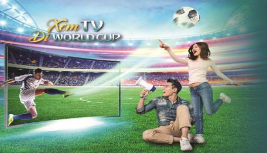 Truyền hình MyTV khuyến mại lớn mùa World Cup 2018