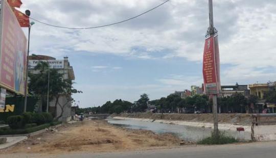Lãnh đạo huyện Nga Sơn lên tiếng về dự án BT kênh Hưng Long