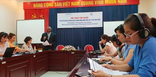 UNICEF cảnh báo Việt Nam thiếu i ốt hết sức trầm trọng