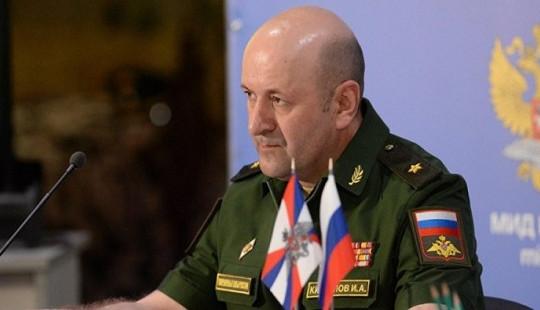 Quân đội Nga khẳng định có việc đánh tráo mẫu xét nghiệm hóa học ở Syria