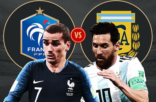 Lịch thi đấu giai đoạn knock-out World Cup 2018: Thư hùng giữa Pháp và Argentina