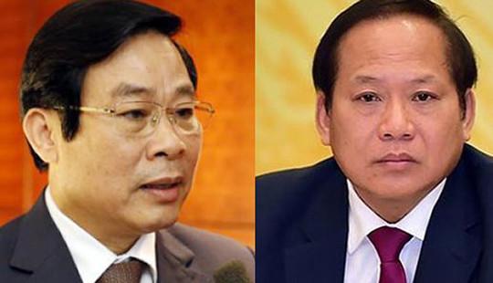 Ông Nguyễn Bắc Son, Trương Minh Tuấn bị đề nghị thi hành kỷ luật