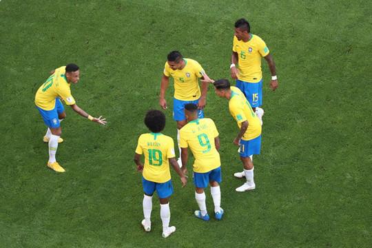 Neymar và Firmino lập công, Brazil đoạt vé vào tứ kết