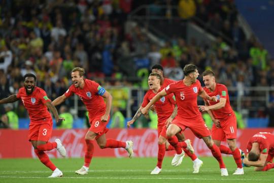 """Anh vào tứ kết World Cup 2018 sau loạt """"đấu súng"""" nghẹt thở"""